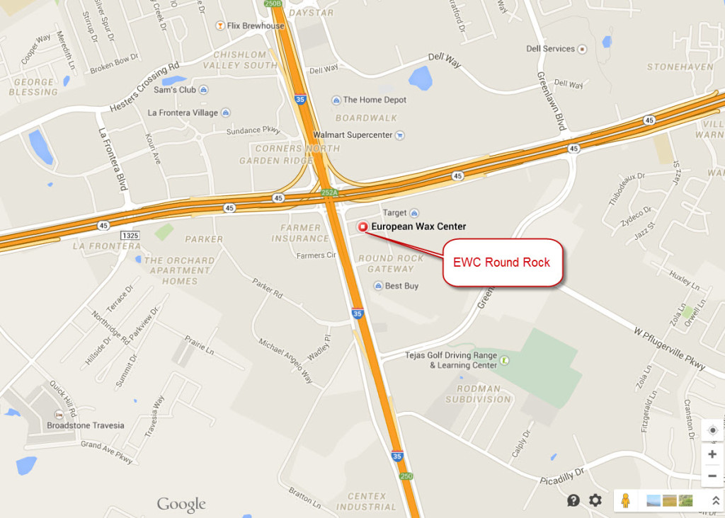 Easy Access from any direction. Right at the corner of I35 and 45 Toll ...